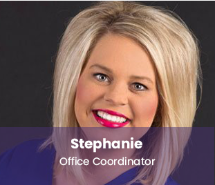 Stephanie, office coordinator Dr. Whitlock Orthodontics