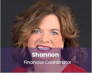 Shannon, financial coordinator Dr. Whitlock Orthodontics